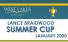 LANCE BRAIDWOOD SUMMER CUP 2020